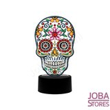 Diamond Painting 3D Illusie Lamp Skull