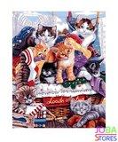 Schilderen op nummer Kittens 40x50cm_