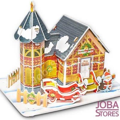 Miniatuur Zelfbouw Huisje (3D Puzzel) voor kinderen 01 (Dessert Shop)