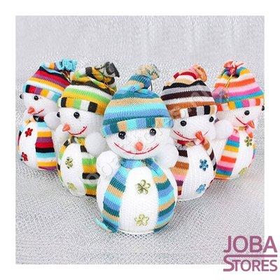 Sneeuwpoppetjes assorti (5 stuks)