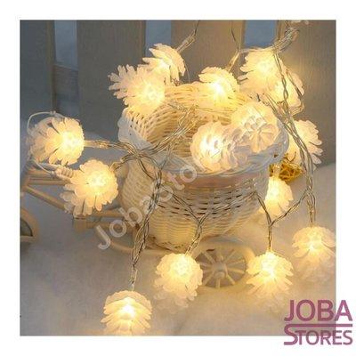 Kerst / Herfst Lampjes Dennenappel (3m - 20 lampjes)
