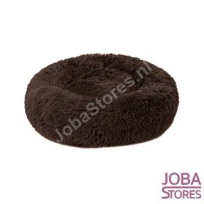 Honden/Katten Mand Donut Donker Bruin 40cm (tot 2,5kg)