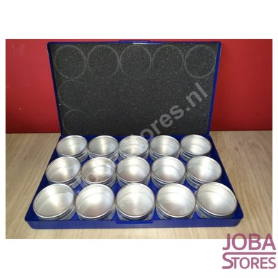 Diamond Painting Storage containers Aluminum (15 pots in size)