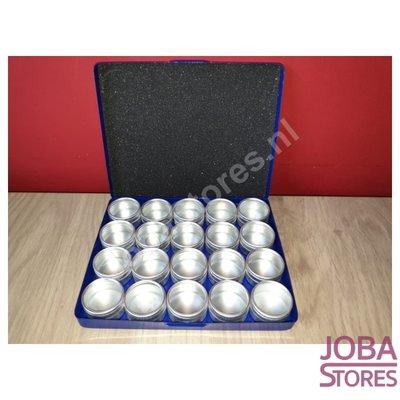 Diamond Painting Storage trays Aluminum (20 pots)