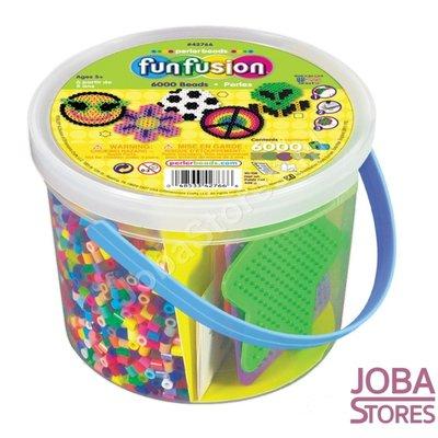 Iron on beads Assorti Bucket