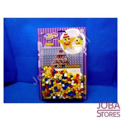 Iron on beads Hama Maxi kit Star + Moon