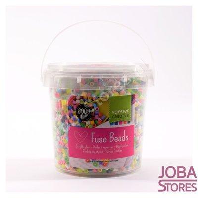 Iron on beads Assorti Bucket Pastel (6000 pieces)