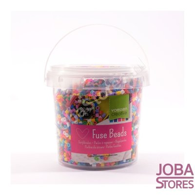 Iron on beads Assorti Bucket Primair (6000 pieces)