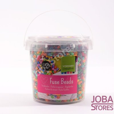 Iron on beads Assorti Bucket Natural (6000 pieces)