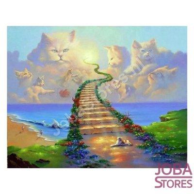 Diamond Painting Cats Heaven 60x80cm