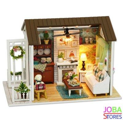 Miniatuur zelfbouw huisje