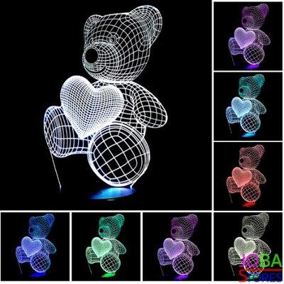 3D Illusie Lamp Beer (7 kleuren instelbaar)