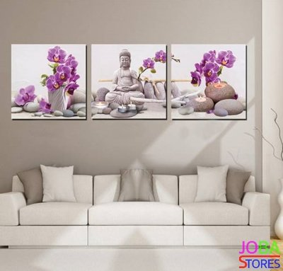 Diamond Painting Buddha Orchidee 120x40cm (FULL)