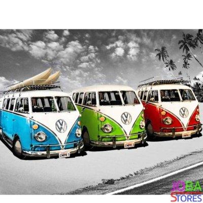 Diamond Painting Volkswagen Busjes 40x50cm