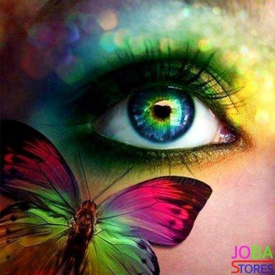 Diamond Painting Colorful Eye 40x40cm
