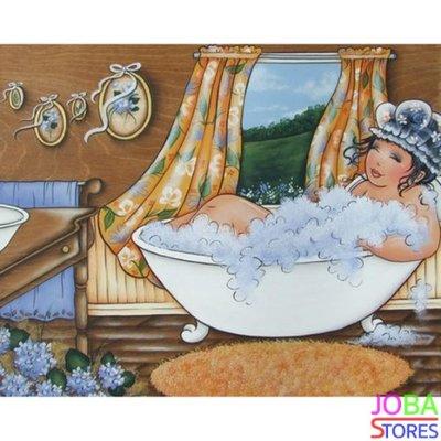 Diamond Painting Dikke Dames 02 40x30cm