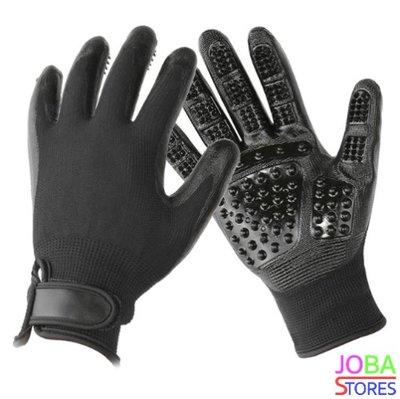 Katten/Honden Grooming Handschoen Zwart (Linkshandig)