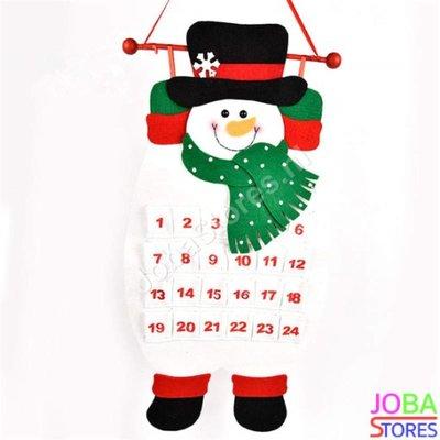 Kerst Advent Kalender Sneeuwpop