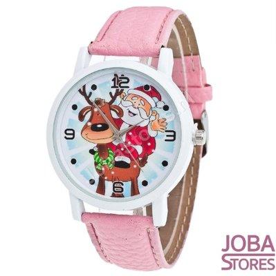 OP=OP Kerst Horloge 01 Licht Roze