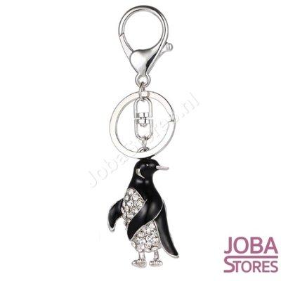 Bling Sleutelhanger Pinguin