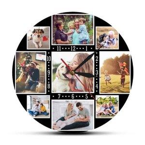 Custom Clock with own photos 003